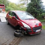 Dopravná nehoda Peugeot 3008 v obci Horna