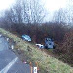 Dopravná nehoda - dvoch vozidiel medzi obcami Palín - Pavlovce n.Uhom