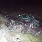 Dopravná nehoda pred obcou Nacina Ves