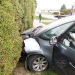 Dopravná nehoda vozidla Ciroen C4 v obci Pavlovce nad Uhom