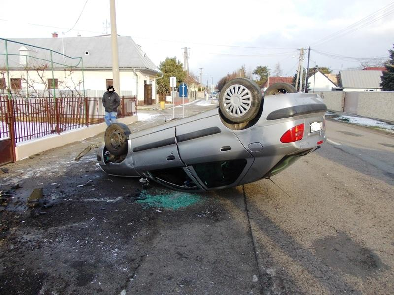 Dopravná nehoda vozidla Citroen Xsara v Michalovciach