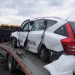 Dopravná nehoda vozidla Kia Ceed za obcou Vojany
