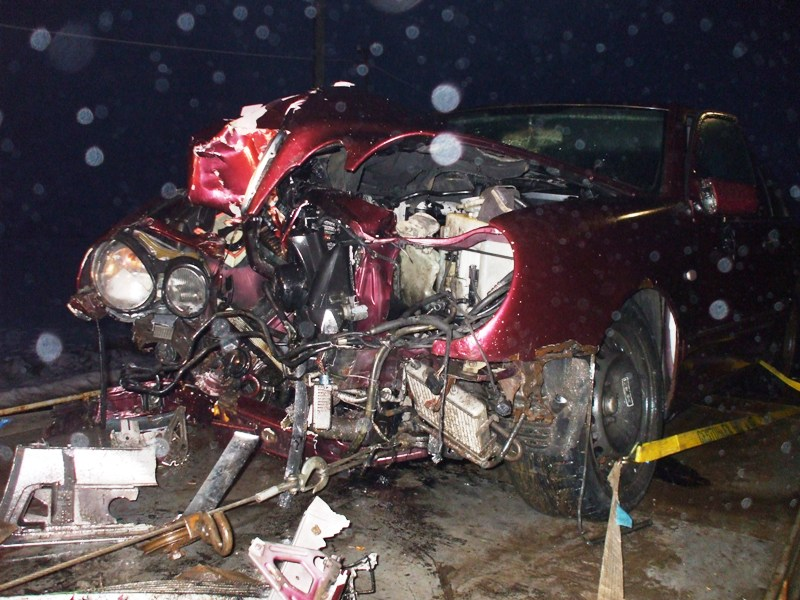 Dopravná nehoda pred obcou Bajany
