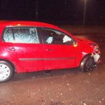 Dopravná nehoda - Šmyk na mokrej ceste v Michalovciach