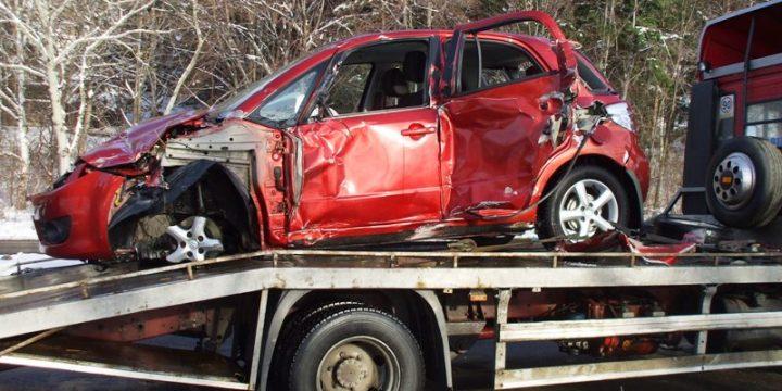 Dopravná nehoda vozidla Suzuki SX4 na Zemlínskej Šírave